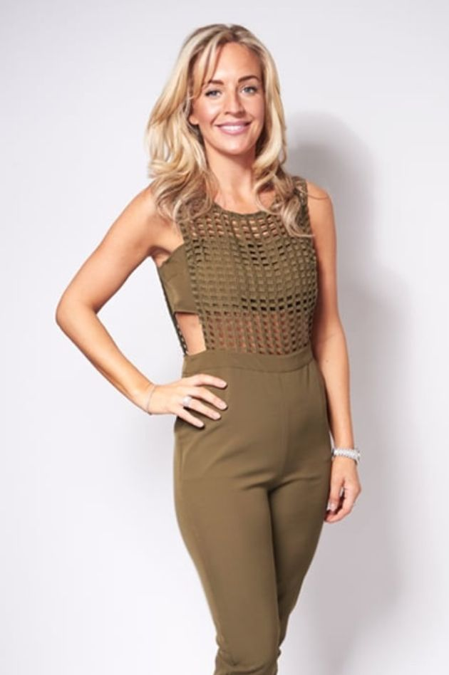 SALE Use code 'LFW' for an extra treat on sale at checkout! Khaki cut out jumpsuit now in sale! https://www.havetolove.com/collections/sale/products/dina-khaki-mesh-jumpsuit #NEfollowers