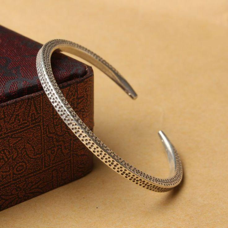S990 prata esterlina jóias artesanais de prata Thai retro personalidade feminina pulseira frete grátis em Pulseira de Jóias no AliExpress.com | Alibaba Group
