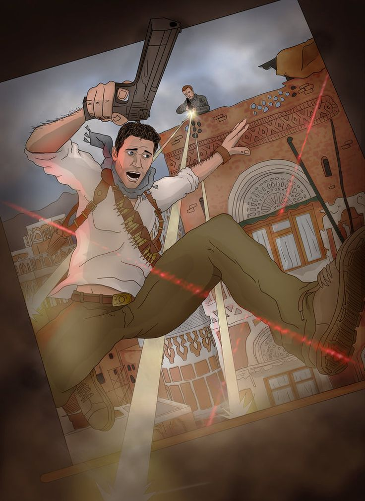 Nathan Drake - Uncharted - Scott Lewis