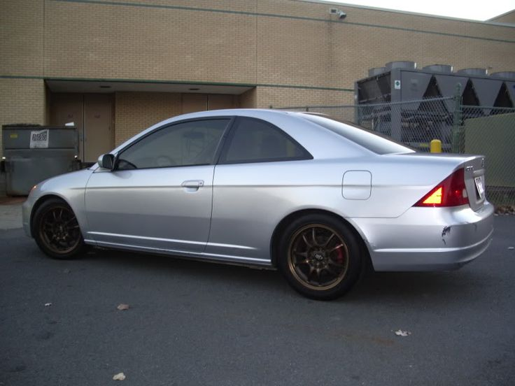 silver 2001 honda civic coupe tint window click the