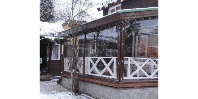 Шторы для беседок и веранд. Мягкие окна, прозрачные уличные шторы для веранды. Защитные шторы из пвх для террас. «Мастерская Жалюзи»