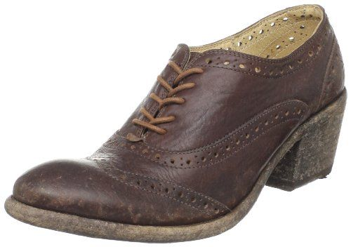 Wedged oxfords