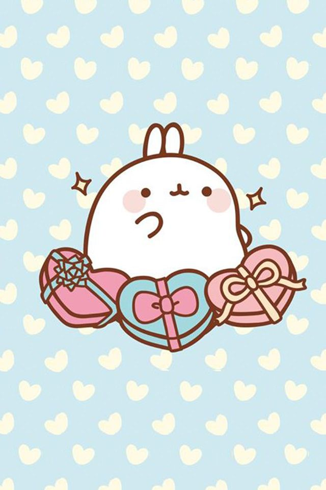 Molang wallpapers free for iphone and galaxy from - Kawaii anime iphone wallpaper ...