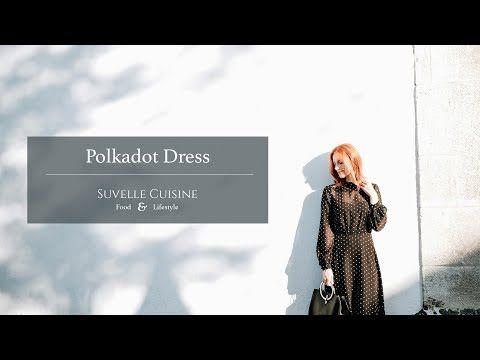 Vestido polkadot - Vídeo | Moda e Receitas | Portugal | Suvelle Cuisine