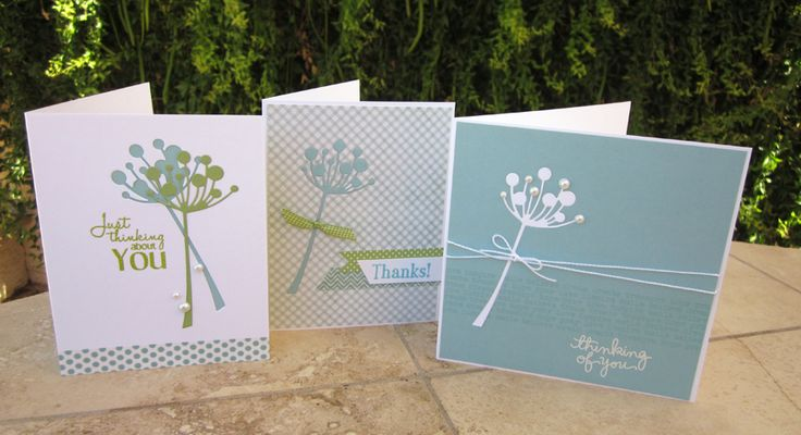 Gorgeous cards by Norine Borys.