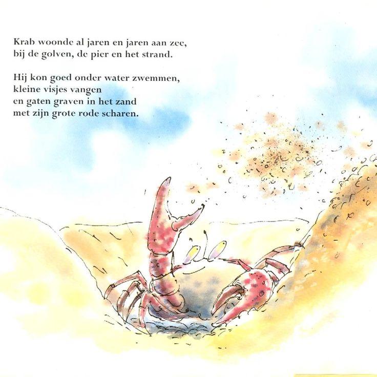 De krab die zon jeuk had