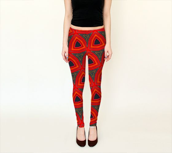 Triangle Bands Leggings, by Peter Gross