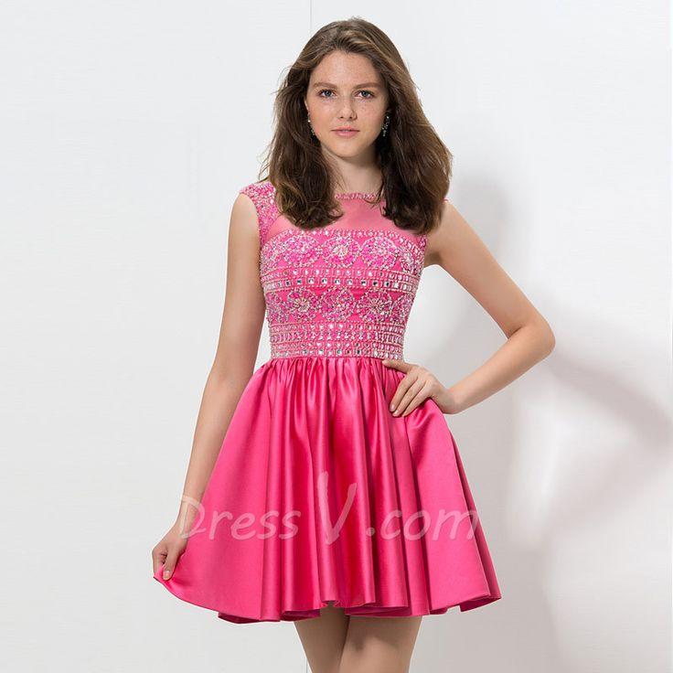 80 best Pink Prom Dresses images on Pinterest   Party wear dresses ...