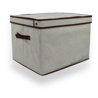 Regular Cream Linen Storage Box     Quick Info: Price £10.00 Keep Your