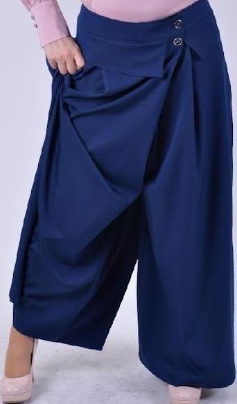2015 mavi pantolon etek modelleri
