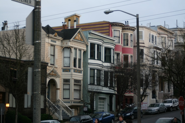 I like the colors of the houses