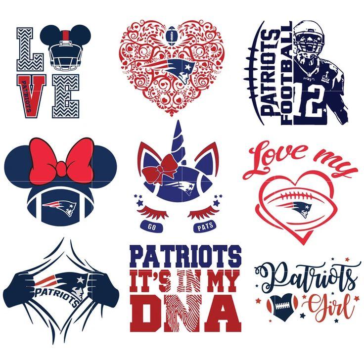 New England Patriots SVG, New England Patriots files