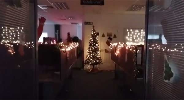 Is This The Most Festive Office In Ireland Irish