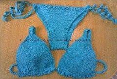 As Receitas de Crochê: Receita padrão de biquíni de crochê …