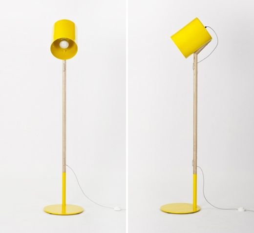 Floor Lamp by Workroom Design via pages from my moleskine