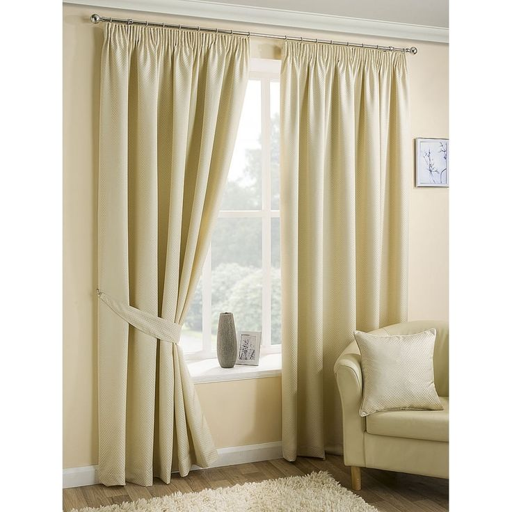 Belfield furnishings Ariel natural pencil readymade curtains. Available now at www.emporiumhomeinteriors.co.uk #curtains #homedecor #home