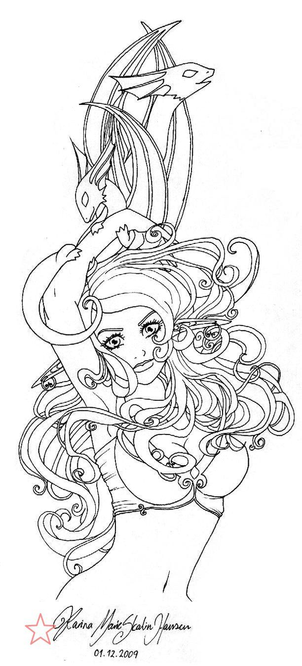 767 best beautiful women coloring pages for adults images on