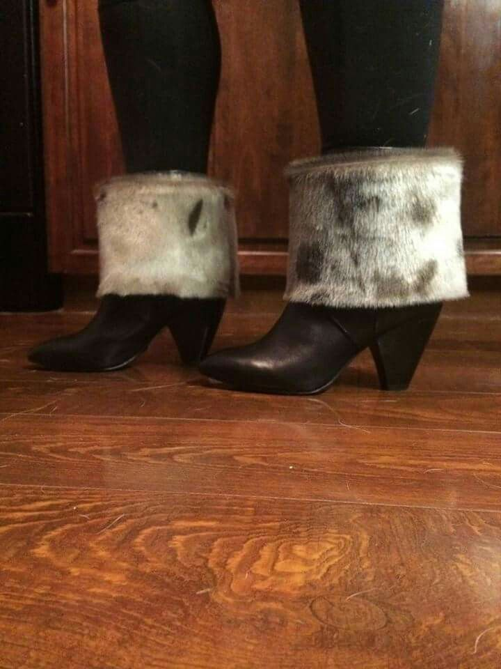 Sealskin Boot Toppers