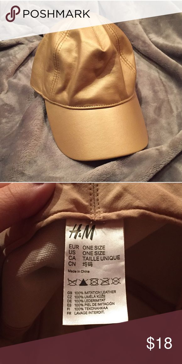 H&M Gold Cap H&M Gold Cap. Gently Used. No Flaws. One Size H&M Accessories Hats