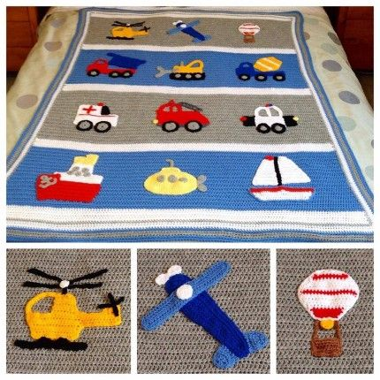 Crochet For Children: Boys Will Be Boys Blanket - Free Pattern!