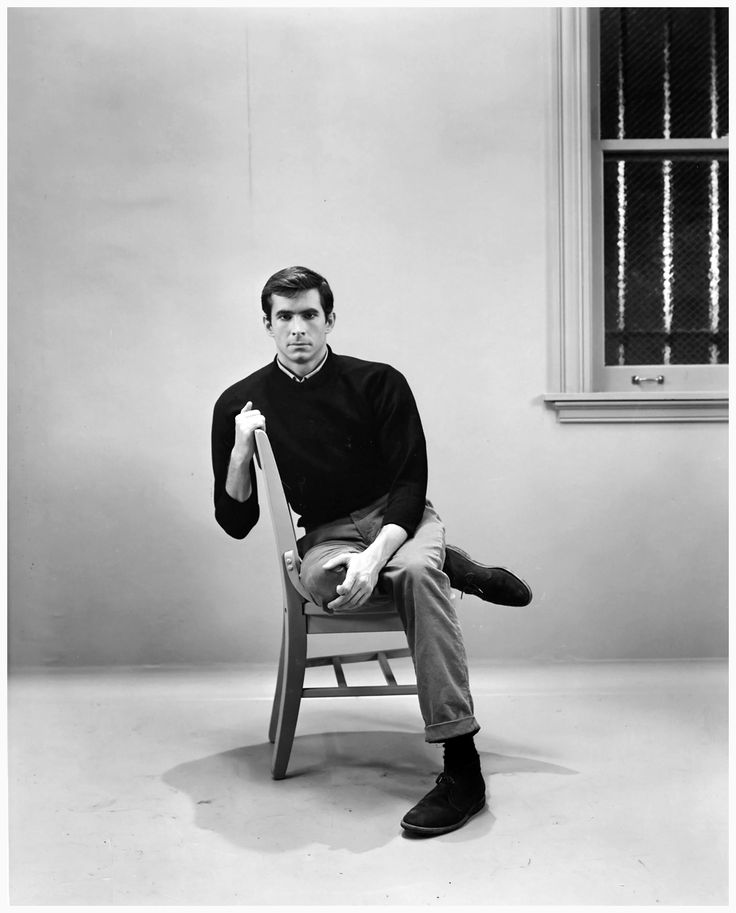 Anthony Perkins as Norman Bates Alfred Hitchcock - Psycho 1960