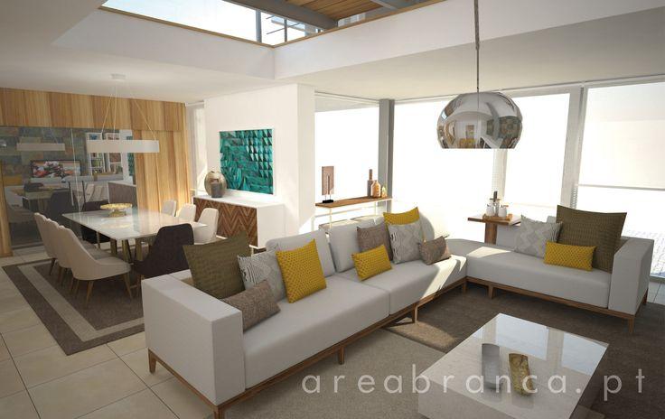 Sala de Estar | Living Room #areabranca #designinteriores #interior design #livingroom #salaestar