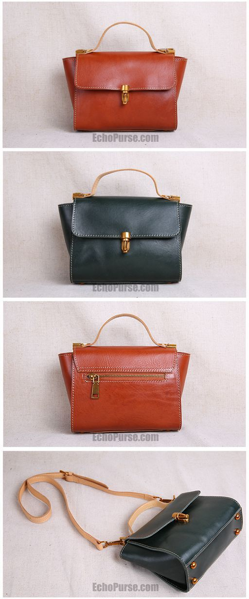 Handmade Leather Purse Designer Satchel Bag Handbags On Jl125 Womensleatherpurseson