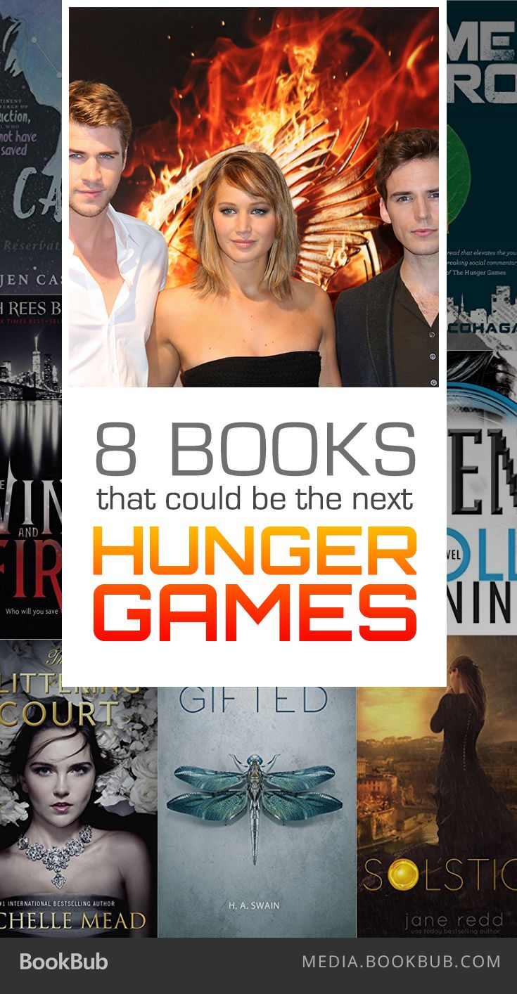 These 8 books could be the next Hunger Games.