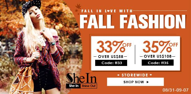 Beauty, Fashion & Lifestyle: Fall In Love With Fall Fashion!