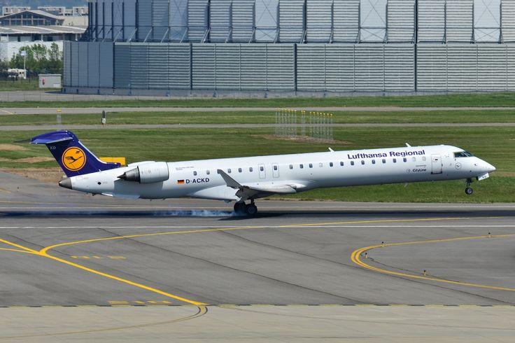 Lufthansa CityLine, 25 de ani de zboruri cu avioane Bombardier CRJ
