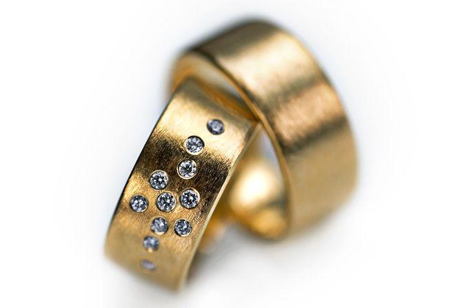 Vielsesringe - Milas Jewellery