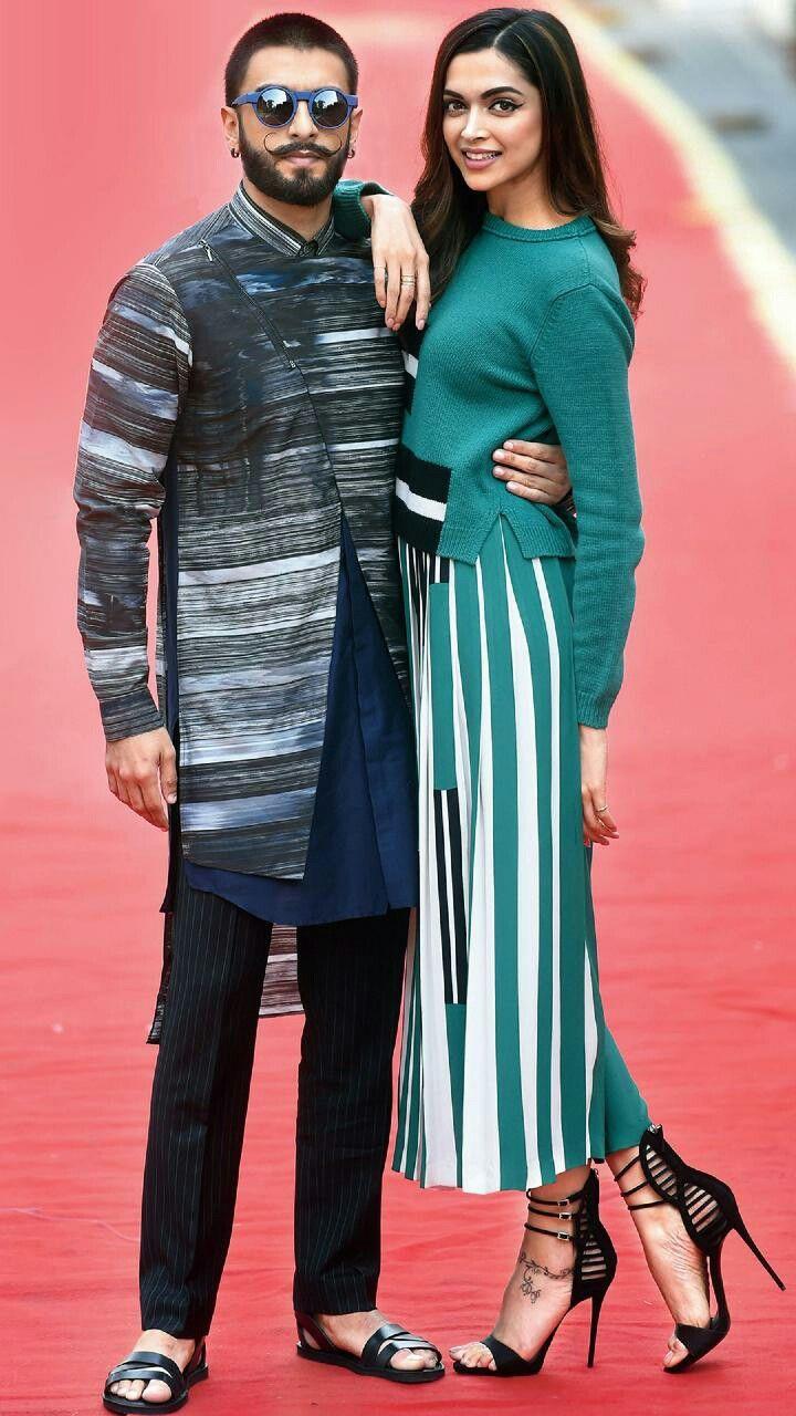 Ranveer Singh Deepika Padukone Deepika Padukone Style Bollywood Fashion Fashion