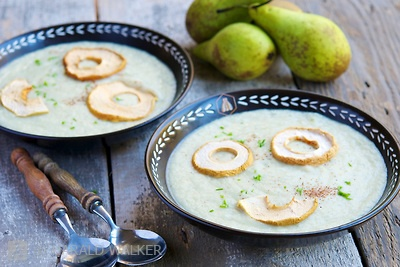Celery Root and Pear Soup | Soups | Pinterest