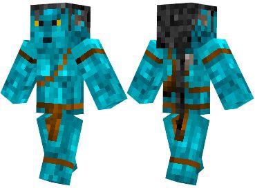 Jake Sully Skin | Minecraft Mods