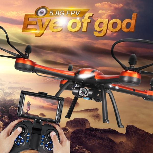 The Eye Of God RC Drone, 5.8G FPV 2.0MP HD Camera...This model is perfect for beginers http://goo.gl/Rtzibh