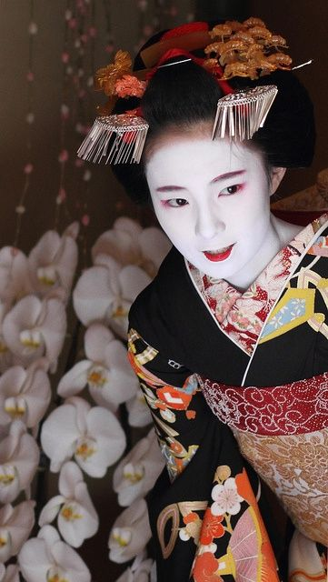 Maiko. Japan. Unknown photographer