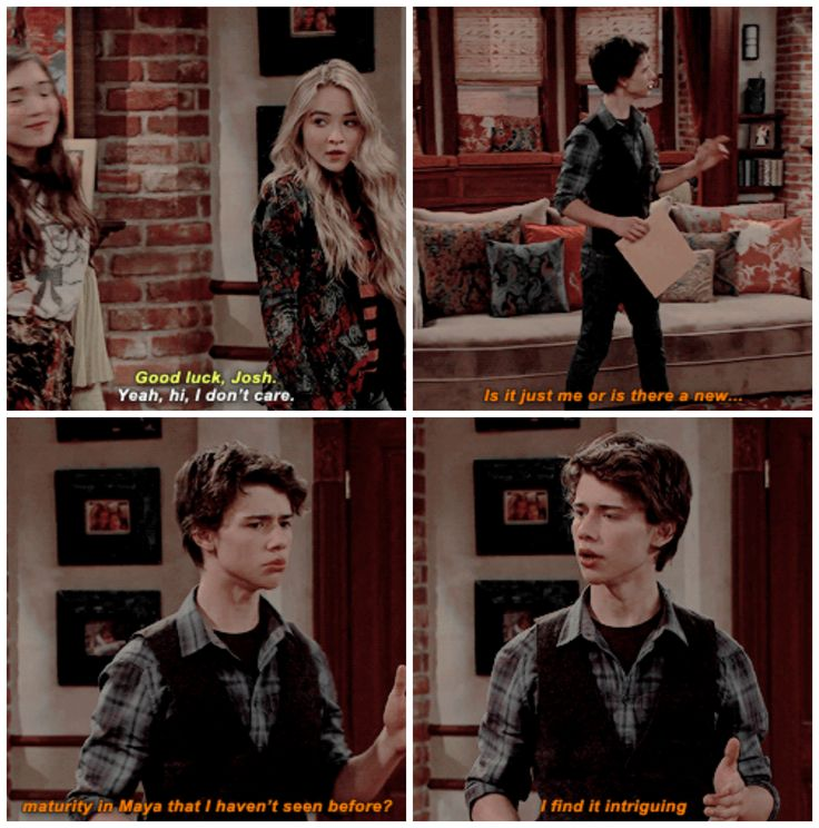 "#GirlMeetsWorld 2x06 ""Girl Meets the Tell-Tale-Tot"" - Maya and Josh"