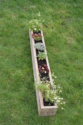 hearb planter Pallet Planter
