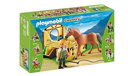 Playmobil Granja - Caballo fiordo con establo (5517) Playmobil http://www.amazon.es/dp/B00FJR0OVY/ref=cm_sw_r_pi_dp_ZAgpwb0D53CE1
