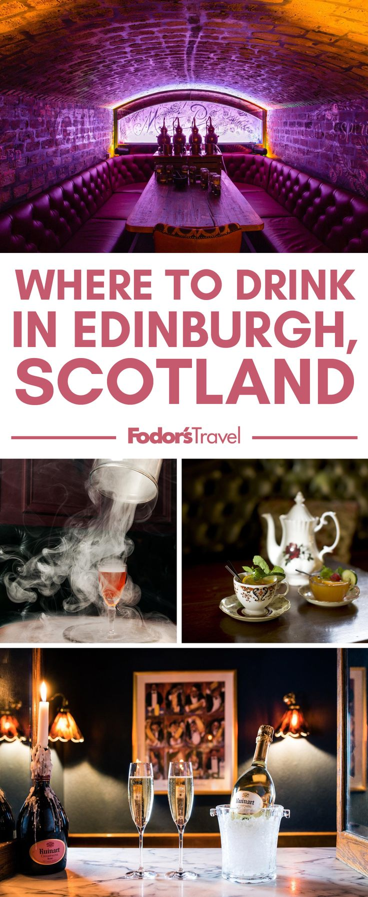 Edinburgh's drinks scene goes far beyond whisky and old pubs. #edinburgh #Scotland #UK #Europe #nightlife
