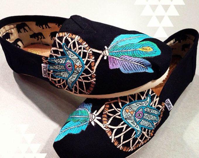 HAMSA Dream Catcher handgeschilderde TOMS schoenen