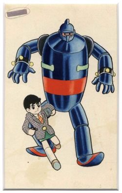 vintagemanga:YOKOYAMA Mitsuteru (横山光輝 ), Tetsujin 28-gō/鉄人28号