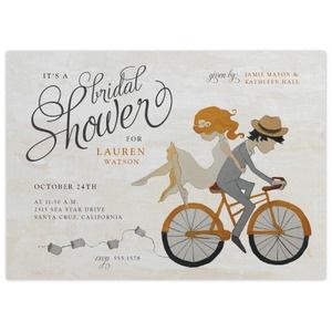 adorable bridal shower invitation
