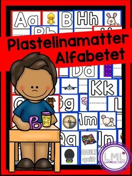 Her får du plastelinamatter til bokstavene A-Å. Fungerer på bokmål og nynorsk! Skriv ut i A3 eller A4, laminer også er de klare til bruk! Her kan elevene forme bokstavene i plastelina, først i bokstavmalen, så i bokstavhuset. Alle bokstavene har også et ord til bokstaven elevene kan forme i store og små bokstaver.