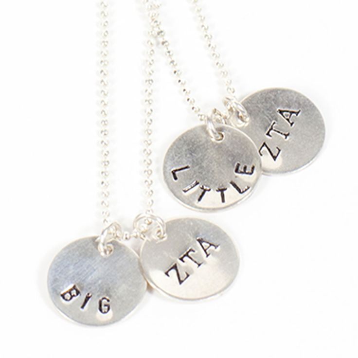 """Sorority Sisters Necklace. The perfect gift for your """"Big"""" or """"Little"""" http://www.dormify.com/greek/sorority-must-haves/sorority-sisters-necklace"""
