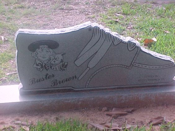 Headstones Cemeteries, Brown Ansley, Headstones Statues, Buster Brown,  Brown Shoes, Famous