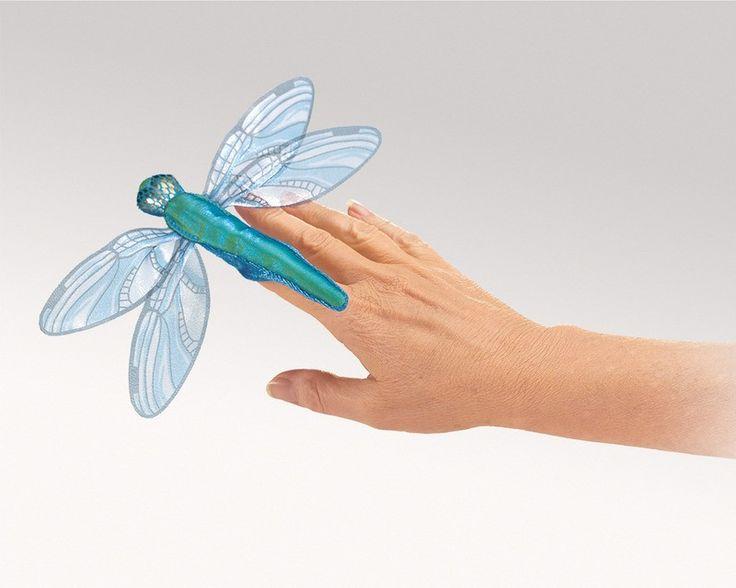 Folkmanis Puppet - Mini Dragonfly Finger Puppet