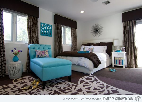 teal color paint bedroom 27 best images about teal amp brown bedroom on 17471