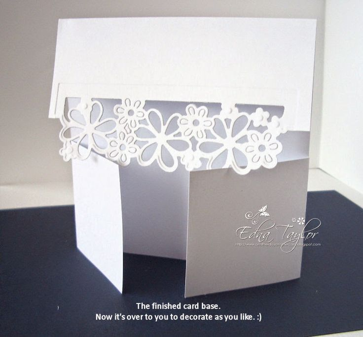 Folding Card Making Ideas Part - 33: Another Day, Another Card: Flap Card Tutorial. Fancy Fold CardsFolded ...