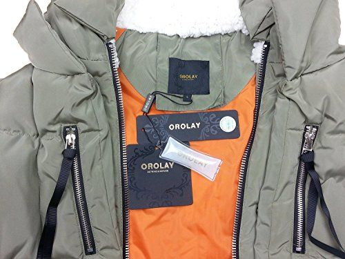 New Trending Outerwear: Orolay Women's Thickened Down Jacket Green Xl. Special Offer: $79.99 amazon.com Neri is filling the white duck down 90%   14% of feathers Almost touch not forget! Super soft, super light!!!!! Thin section. The whole clothes light weight to near zero!!!!!!!!!!! Upper body almost can't feel it's there!!!!! Duck down proces...